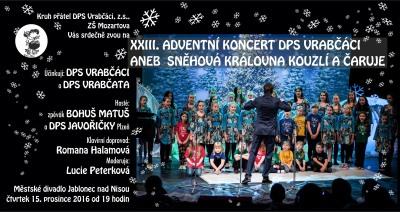 Dětský sbor Vrabčáci zve na adventní koncert do jabloneckého divadla
