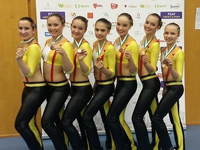 V Semilech soutěžilo v aerobiku 1000 závodníků, juniorky mají bronz