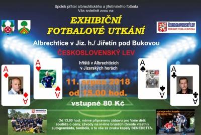 Na exhibiční utkání do Albrechtic přijede Československý lev