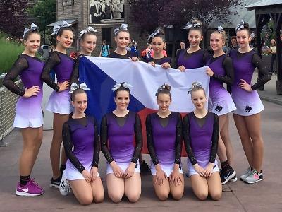 A-Styl Dragons se představí v Americe na šampionátu v cheerleadingu