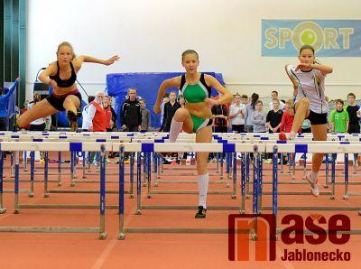 Atletická hala na Střelnici plná talentů