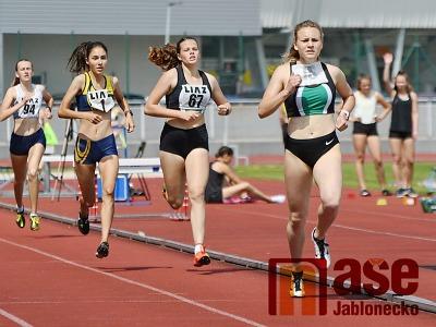 Barbora Hůlková vyhrála v Liberci sprinterský trojboj