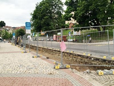Jablonecké autobusové nádraží prochází proměnou