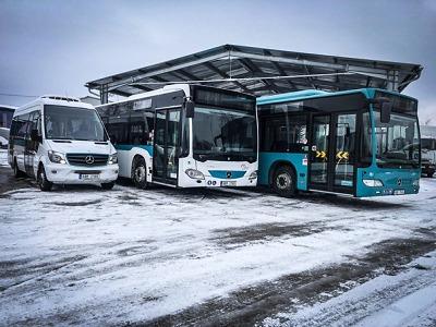 Od 1. února vyjedou na Jablonecku nové autobusy Umbrella