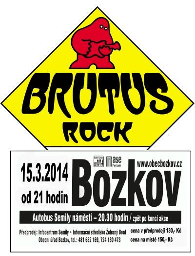 Pravý český bigbít přiveze do Bozkova skupina Brutus