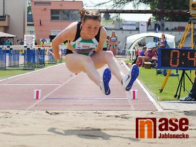 Bára Hůlková byla v dálce dva centimetry od bronzové medaile