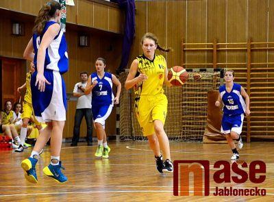 Výborný basketbal v podání ligových juniorek