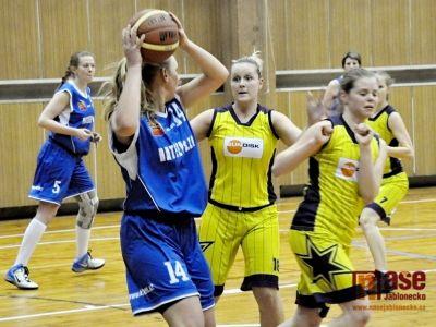Basketbalistky o víkendu zdobila bojovnost