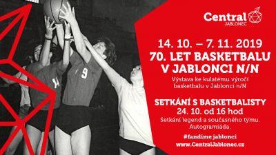 Zahájili výstavu 70 let basketu v Jablonci