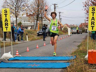 Vítězem 45. ročníku běhu Hruštice se stal Kamil Krunka