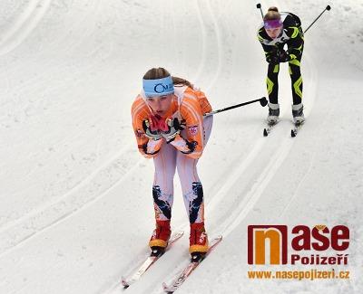 Na Benecku soupeřili mladí lyžaři Liberecka a Hradecka