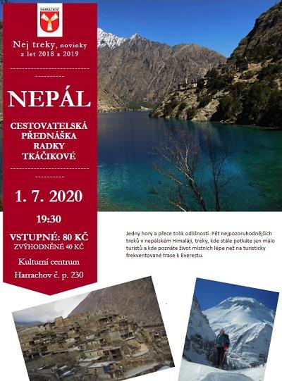 O Nepálu bude v Harrachově povídat Radka Tkáčiková