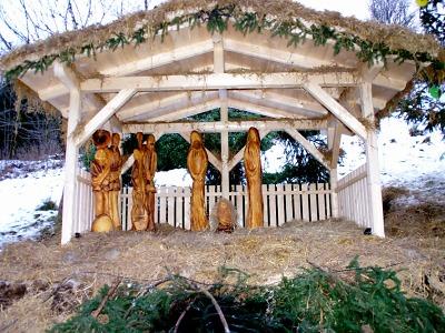 Jindřichovští představili svůj vánoční betlém