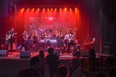 Obrazem: Jablonecké Woko ovládly kapely Makule a Mandragora