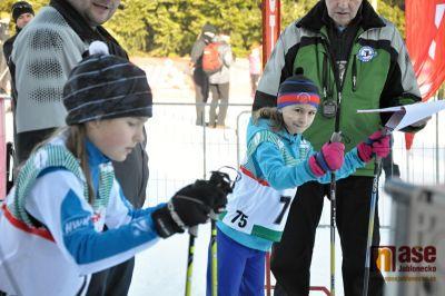 V areálu v Břízkách se v sobotu lyžovalo