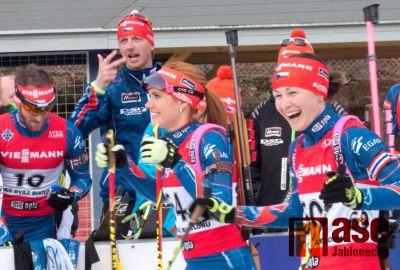Nor Boe v biatlonové stíhačce první místo uhájil