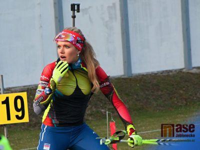 Gabriela Koukalová do čela Světového poháru