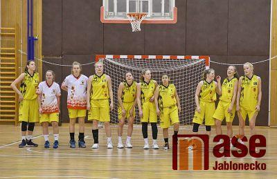 Skvělý úspěch jabloneckých basketbalistek