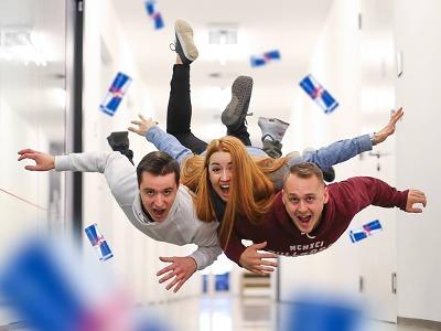 Tým Bohemians z TU Liberec se přihlásil do soutěže s redbullem