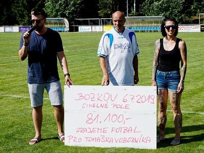 Zápas v rámci bozkovské pouti přinesl 81 tisíc pro Tomáška