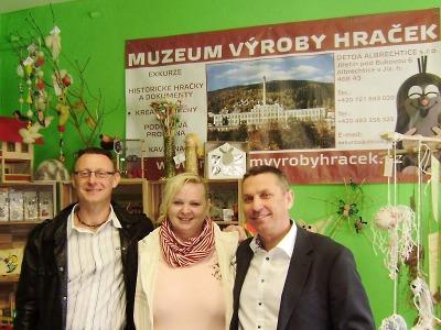 První vzorková prodejna českých hraček je otevřena ve Smržovce