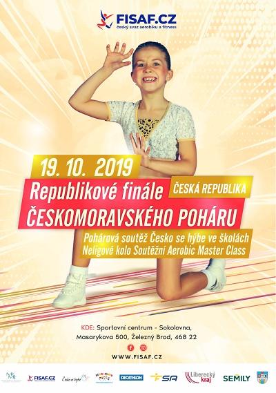 Republikové finále poháru v aerobiku pořádají v Železném Brodě