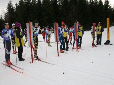 V pohárovém závodu na Mísečkách uspěli i jablonečtí lyžaři