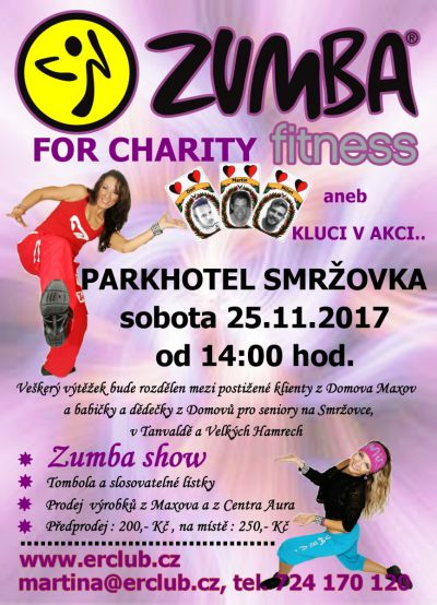 Pozvánka na již sedmý ročník Charitativního zumba maratonu