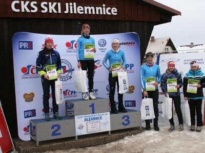 Lyžaři bojovali v závodech českého poháru v Jilemnici