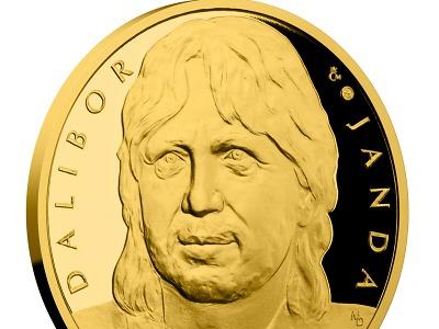 Zlatá medaile pro Zlatého Slavíka Dalibora Jandu