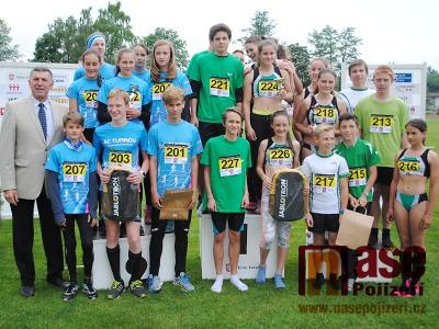 Mladí jablonečtí atleti obhájili svůj krajský titul