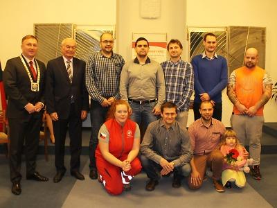 Jablonečtí dárci krve si odnesli medaile