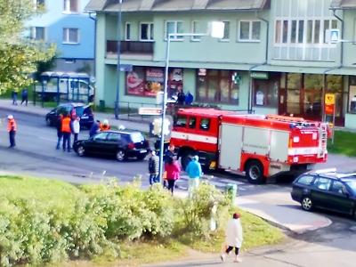 V Desné byl autem sražen chodec