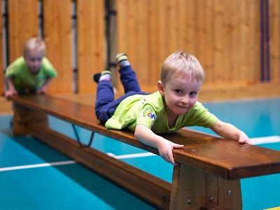 Děti na startu vám dají spoustu nápadů a podpoří vás ve cvičení s dětmi