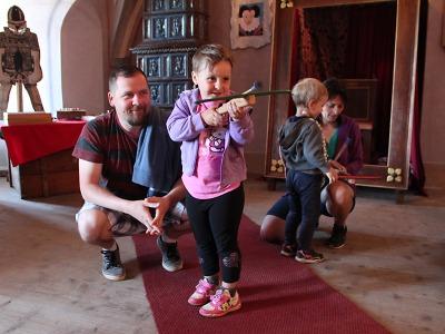 Kasteláni myslí o prázdninách na děti a nabízejí prohlídky pro rodiny