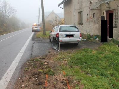 Policisté žádají o pomoc svědky nehody v Maršovicích