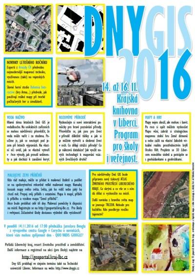 GISDay 2016 v Liberci zasvětí návštěvníky nejen do tajů map