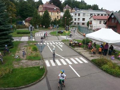 Dopravní hřiště v Jablonci má rozšířenou prázdninovou provozní dobu