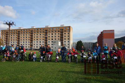 Obrazem: Cyklokros dětí a dospělých v Tanvaldě
