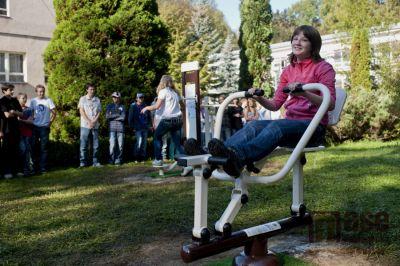V Desné otevřeli první Fitpark v Libereckém kraji