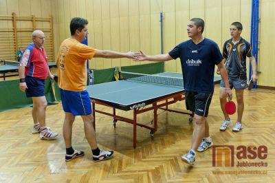 TJ Jiskra Tanvald odehrála 2. a 3. kolo Divize mužů ve stolním tenise