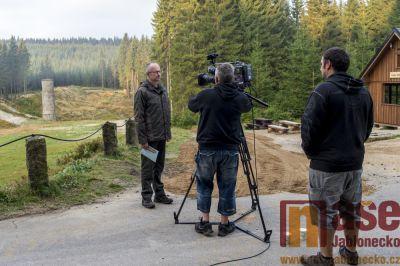 První živý televizní přenos z Protržené přehrady málem neproběhl