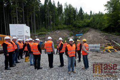 Exkurze do rekonstruovaného tunelu Kořenov - Harrachov