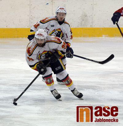 Výprask jabloneckých hokejistů ve Vrchlabí