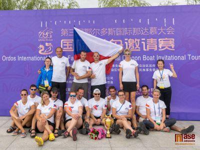RK Dragons už jsou proslulí i v Číně