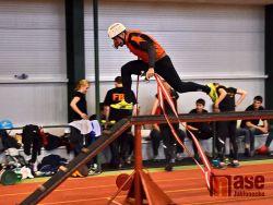Hasiči soutěžili  dva dny v jablonecké atletické hale
