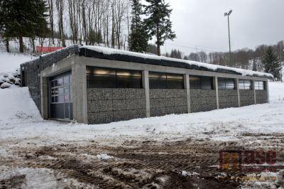Ski areál Černá Říčka má nové technické zázemí
