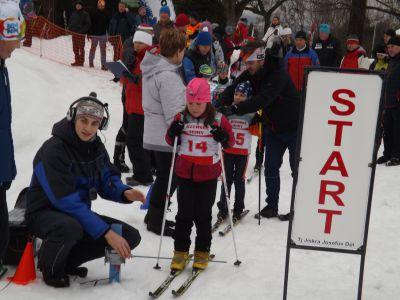 V Josefově Dole se uskutečnil lyžařský pohár žactva
