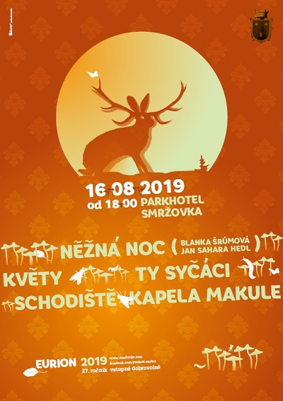 Eurion 2019 přivítá Blanku Šrůmovou, Schodiště i O5 a Radeček