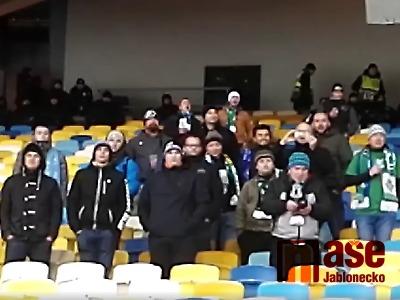 Video: Jak fanoušci Jablonce jeli na Evropskou ligu do Kyjeva